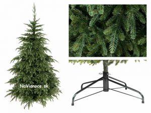 umelý vianočný stromček nepravidelný