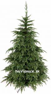 umelý vianočný stromček nerovnomerný