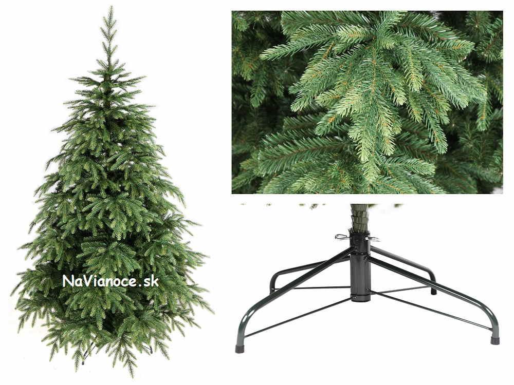 umelý vianočný stromček rozmanitý